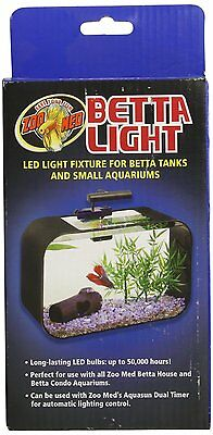 Zoo Med Betta Led Light Mini Tanks Or Bowl For Aquarium Free Shipping In The Usa