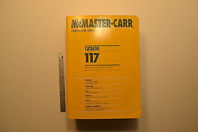 #JB24 Huge 2011 McMASTER-CARR Catalog No. 117 - 2011 Hardware Hand Tools 3856pgs