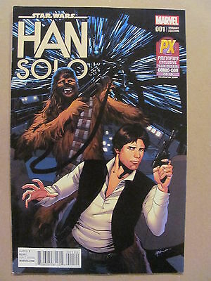 Star Wars Han Solo #1 Marvel SDCC 2016 PX Exclusive Variant 9.2 Near Mint-