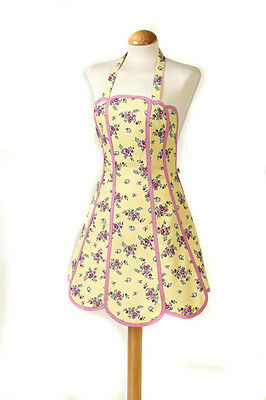 SALE C'est Ca Panelled Apron Katie Yellow WAS £19.99 NOW £16.99