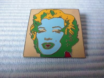 1 Andy Warhol emaillierte ACME Studio of LA Marilyn Monroe Pin Brosche POP Art