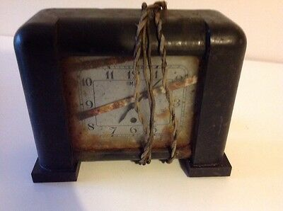 Timlec Vintage Retro Clock For Restoration Only
