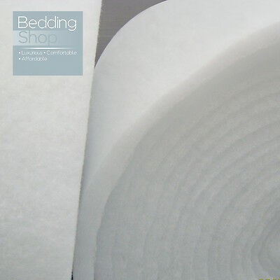 New Premium Fire Retardant Polyester Wadding Roll - Upholstery Padding Quilting