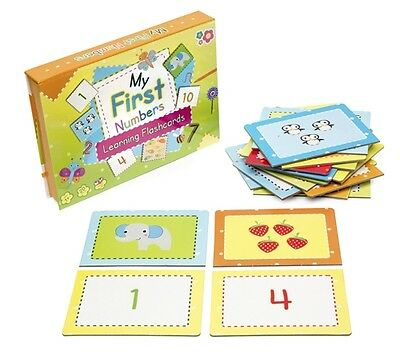 My First Numbers Flashcards Boxed Set Games Educational Learning Teacher Kids