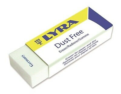 Lyra Eraser Rubber Dust Free 1 piece - Art Supplies Teacher Resources
