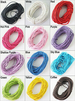 1 New Cords Wax thread Farbenmix Cord Band Beading Bracelet Rope 10m/Roll
