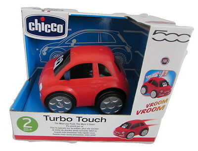 Chicco Turbo Touch Fiat 500 Red Car - boys toy car - 2 years plus