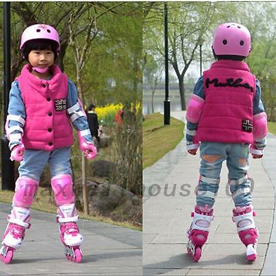 Creative Rollerblade Skateboard Skating Knee Elbow Wrist Protective Gear Kids