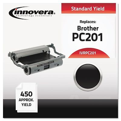 Innovera Compatible PC201 Thermal Transfer Print Cartridge, Black - IVRPC201
