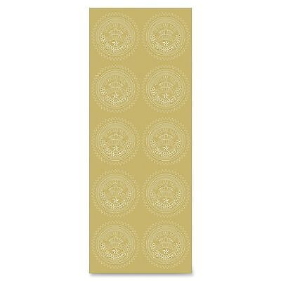Geographics Gold Excellence Certificate Seals - GEO47853