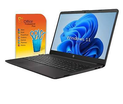 "HP Notebook 15"" - N4000 Intel 2x 2,60GHz -  4GB - 1TB - Win10 - Office 2018 +CD"