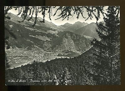 Valle D'aosta - Brusson Vista Dal Colle Di Joux [Nb06]