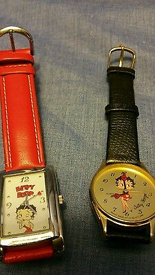 A pair of Betty Boop watches