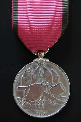 Sterling Silver Turkish Crimea Medal British Issue