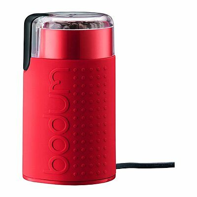 Bodum Bistro Electric Blade Coffee Grinder, Red