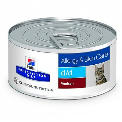 Hills DD Feline d/d Venado PD - Prescription Diet dietas para gatos (lata)