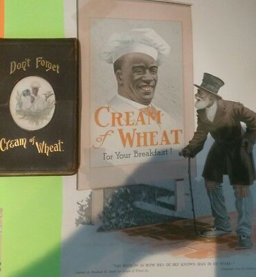 Vtg Original Don't Forget Cream Of Wheat Grocers Want Book Salesman Sales Pad.