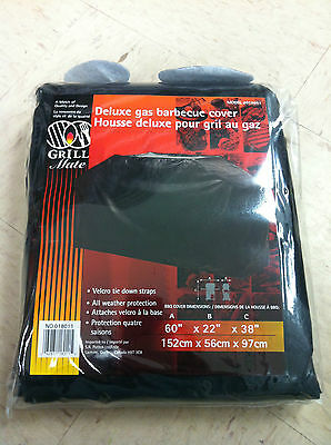 Grill Mate 018011 VINYL DELUXE GAS BARBECUE COVER 60x22x38 BBQ WINTER PROTECTION