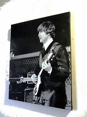 The Beatles Cow Palace SF AUG 19,1964 - Canvas Giclee Wall Hanging BW Photo