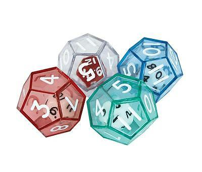 Polyhedra Double Dice 12 Face (4 pk) Maths Games Teacher Resources Education