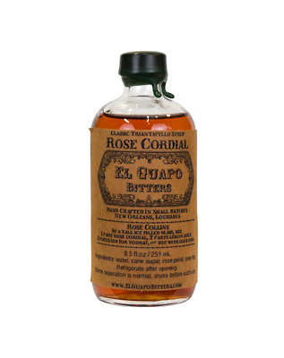 El Guapo Rose Syrup 250ml