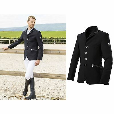 Equit'M Men ?Softshell? Competition Jacket Black