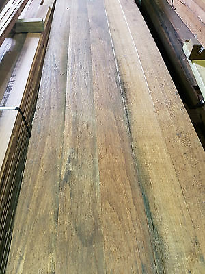 Recycled reclaimed Hardwood - Messmate 100 x 12 mm wall and ceiling lining