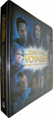 Star Trek Voyager Heroes & Villains Binder / Album