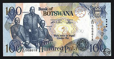Botswana: 100 Pula 2004 (Pick- 29a), Choice Crisp Uncirculated