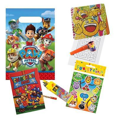 Paw Patrol Pre Filled Party Bags, Ready Made Children's Birthday Favours