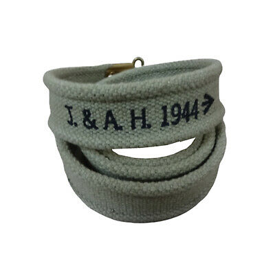 WW2 British Enfield Web Sling OD Color (MARKED)