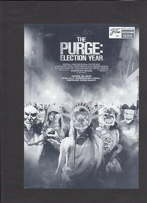 NFP Neues Filmprogramm 13512 The Purge: Election Year - Frank Grillo