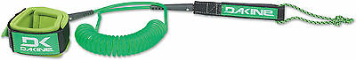 Dakine SUP Leash 10' X 3/16 Coiled Ankle 06675191 Neon Green