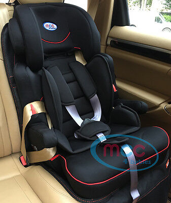 Mcc 3 in 1 Baby Child Car Safety Booster Seat Group For 1/2/3 9-36kg ECE R44/04