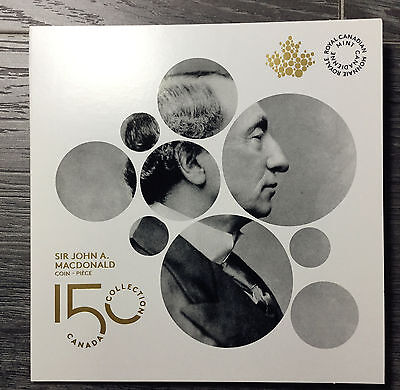 2015 Canada Sir John A. Macdonald  $2 Toonie with Collector card