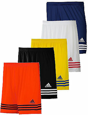 Adidas Boys Kids Junior Football Shorts Training Gym Climalite Sports Age 5-14