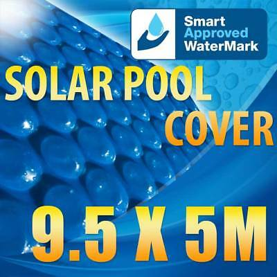 New Swimming Pool Solar Blanket Cover 400 micron 9.5x5m