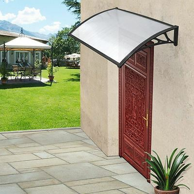Door Canopy Patio Awning Shelter Porch Front Rain Roof Back Outdoor Shade Cover