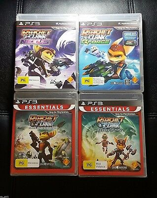 Ratchet And Clank Bundle *NEW / SEALED* Sony PlayStation 3 PS3 Game - FREE POST