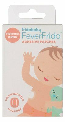 2 Boxes FeverFrida Fever Fridababy Adhesive Patch Thermonitor Refill 20 Patches