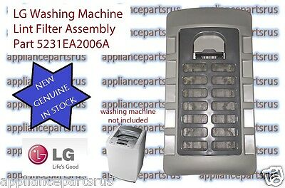 LG Washing Machine Lint Filter Assembly 5231EA2006A - NEW - GENUINE - IN STOCK