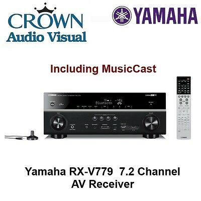 Yamaha RX-V779 7.2 Channel AV Receiver 2 Zone with MusicCast *RRP $1599