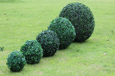 Artificial Green Grass Ball Plant Topiary Hanging Garland Home Garden Yard Decor