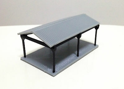 Outland Models Railway Small Shed for Autos / Goods N Gauge 1:160