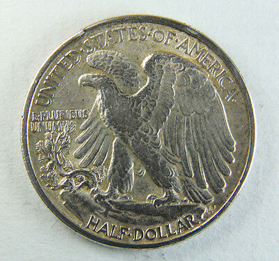 1940 USA 1/2 Half Dollar, Walking Liberty; Old album collcection!