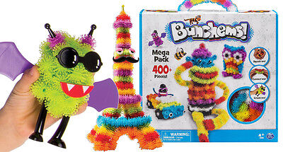 Bunchems 400 Piece Mega Pack Childrens Birthday Christmas Festival Gift Toy