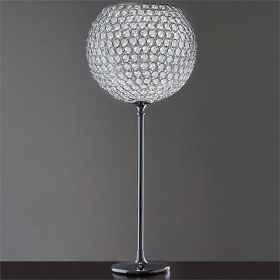 """SILVER METAL 41"""" tall Beaded Ball Wedding Centerpiece Party Decorations SALE"""
