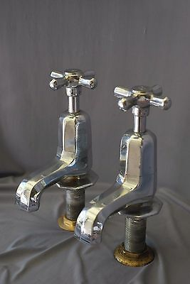 Chrome Bath Taps Art Deco Antique Bathroom Reclaimed Fully Refurbished