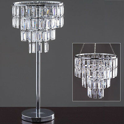 """SILVER 12"""" tall Faux Crystals Beaded Centerpiece Wedding Party Decorations SALE"""