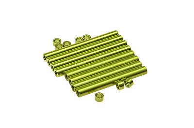 Aluminum Post Frame Hardware Screws Post Parts for mini 300 MM Quadcopter Green
